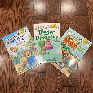 3 {I Can Read - My First Reading} Books